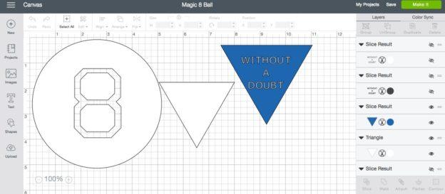 Magic 8 Ball with Cricut