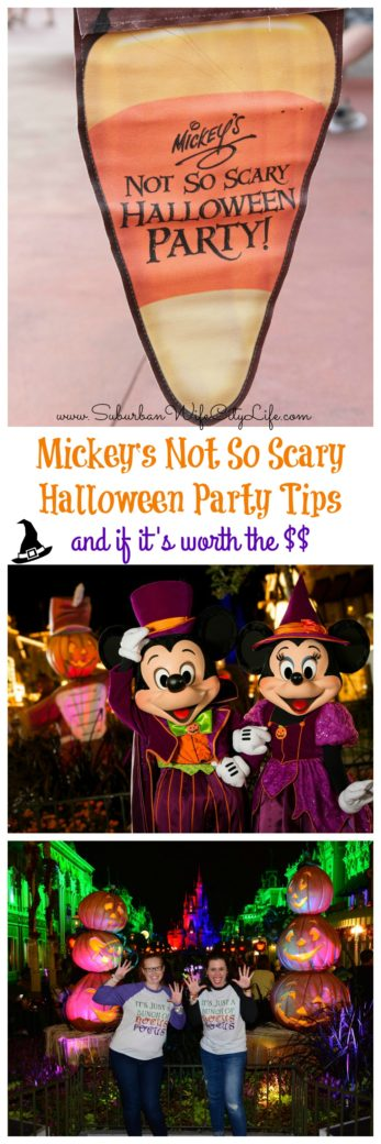 Tips for Mickey's Not So Scary Halloween Party and if it's worth the cost