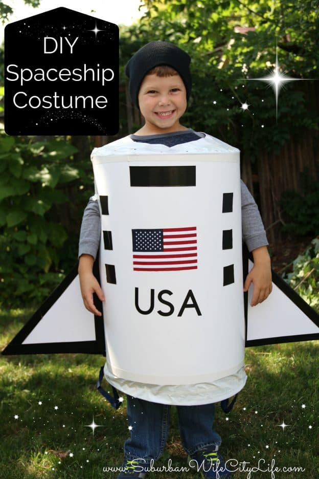 DIY Spaceship Costume