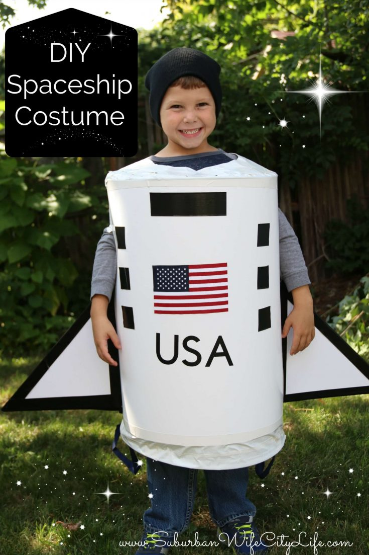 Spaceship Costume DIY