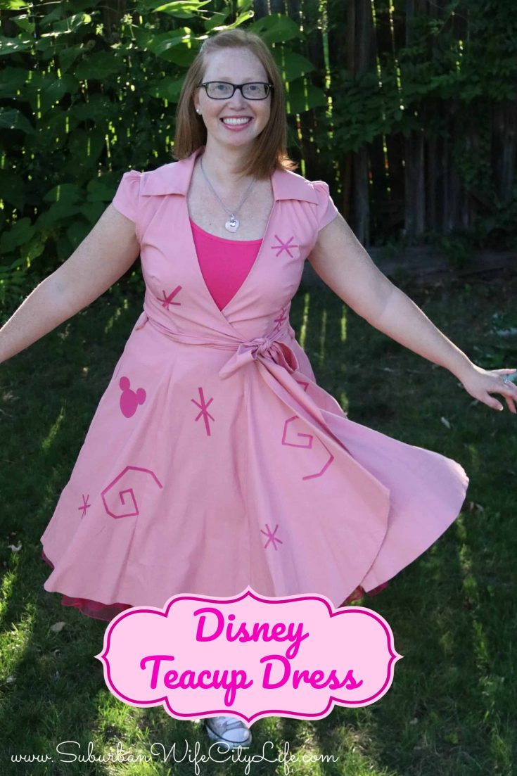 Disney Teacup Dress DIY