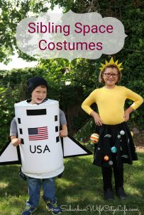 Sibling Space Costumes