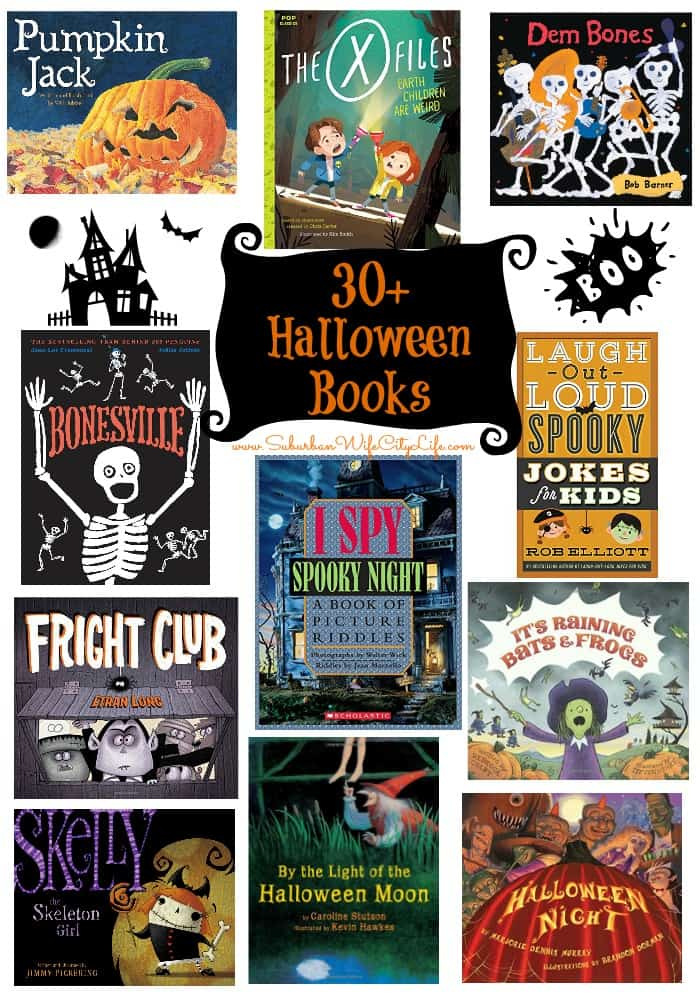 30+ Halloween Books for Kids