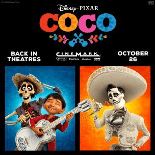 Coco back in theaters 2018