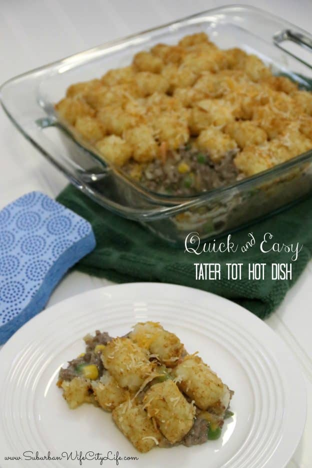 Quick & Easy Tater Tot Hot Dish
