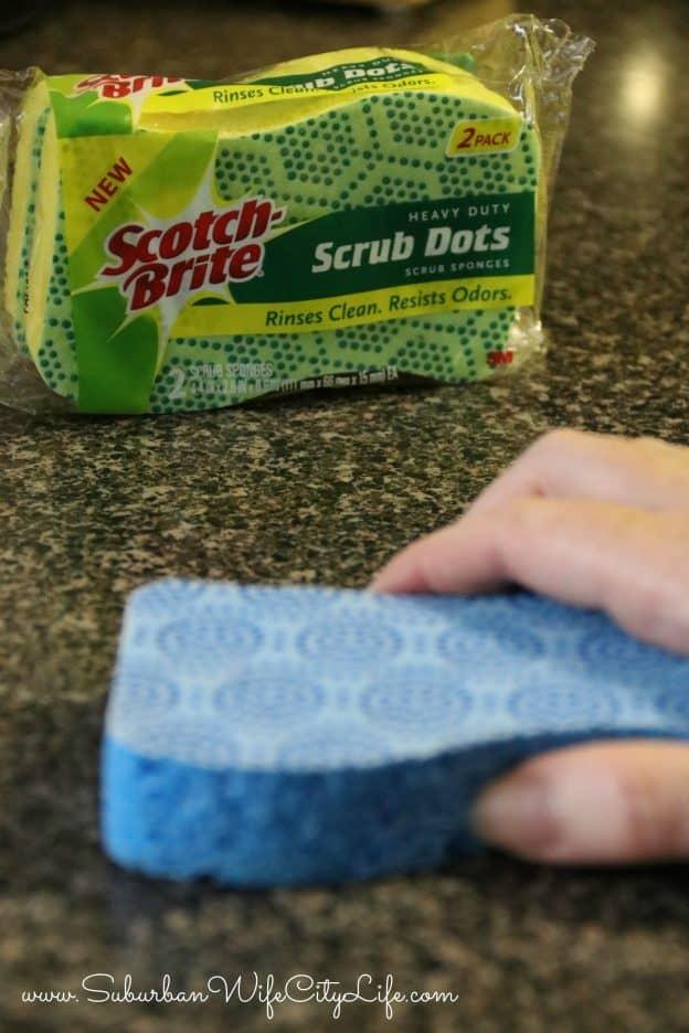 Scotch-Brite® Scrub Dots