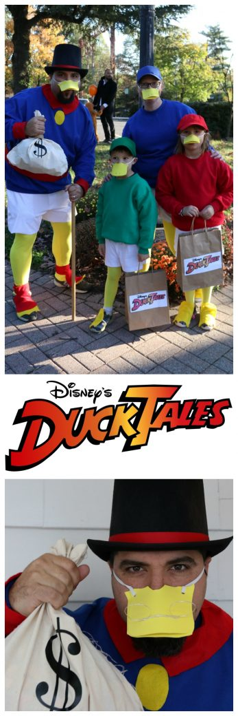 DuckTales Costume DIY