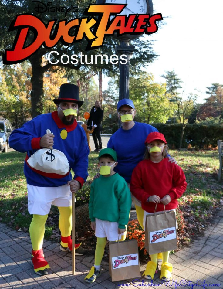 DIY - DuckTales Costumes