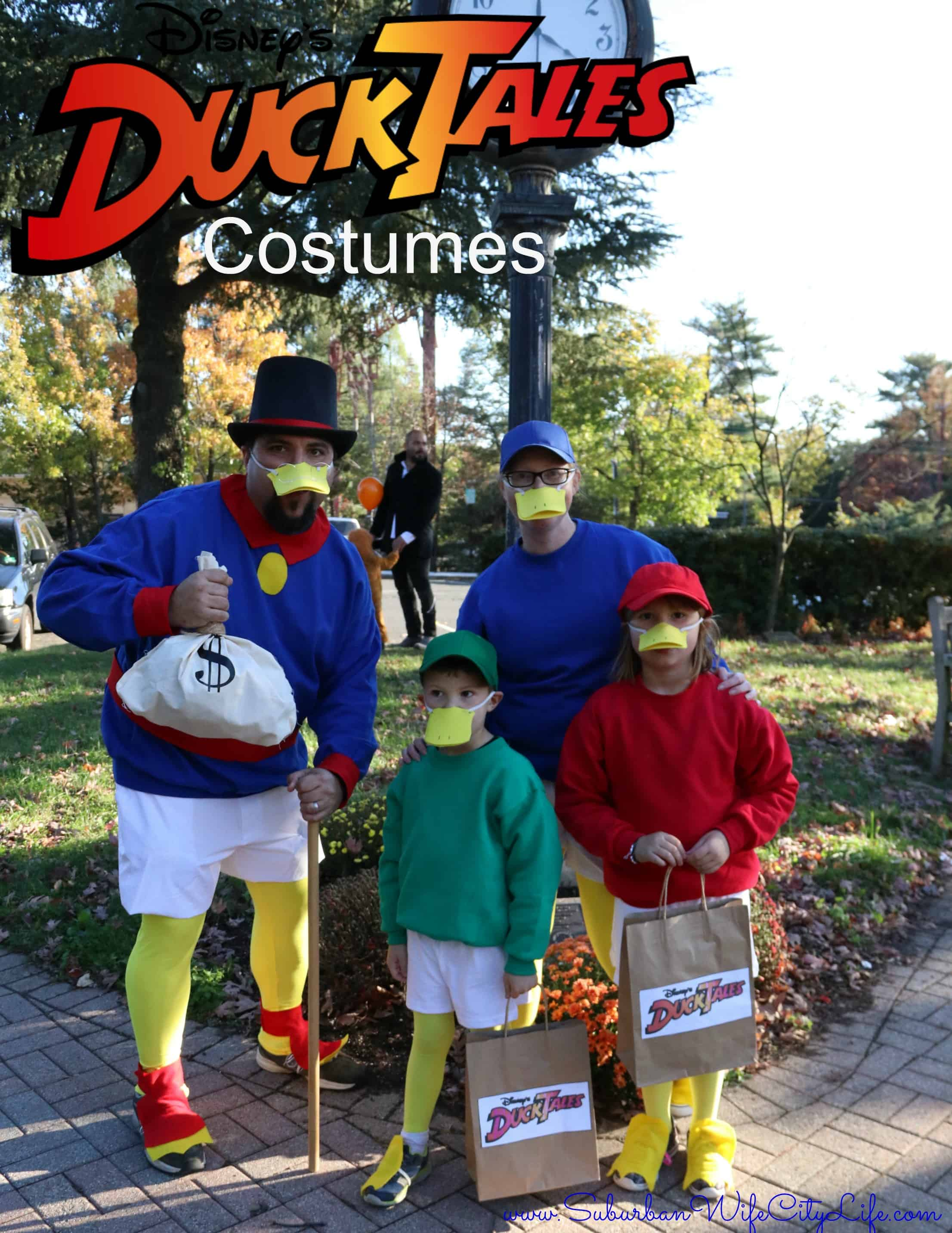 DIY – DuckTales Costumes