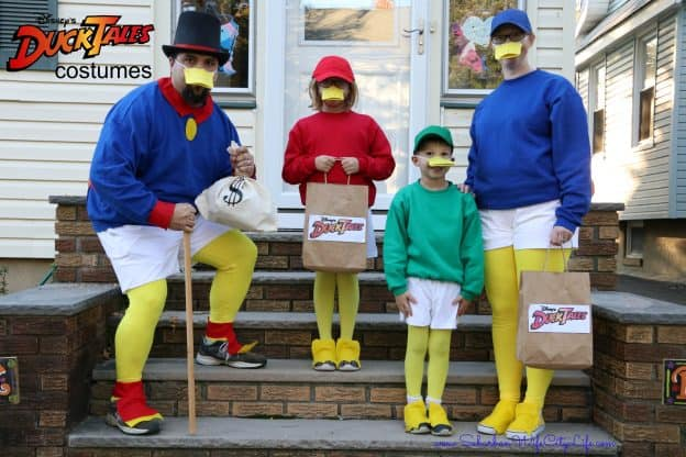 DuckTales Group Costume