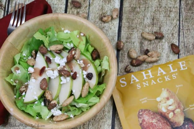ear & Goat Cheese Salad with a Crunch