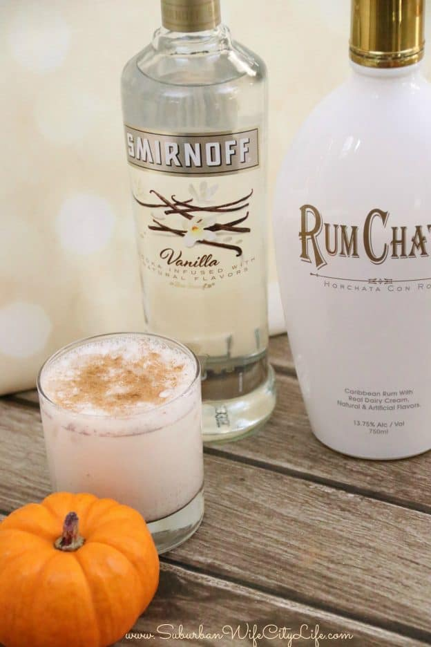 Rum Chata Pumpkin Pie Cocktail