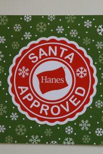 Santa Approved Hanes
