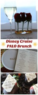 Disney Cruise Palo Brunch and why it's worth it.