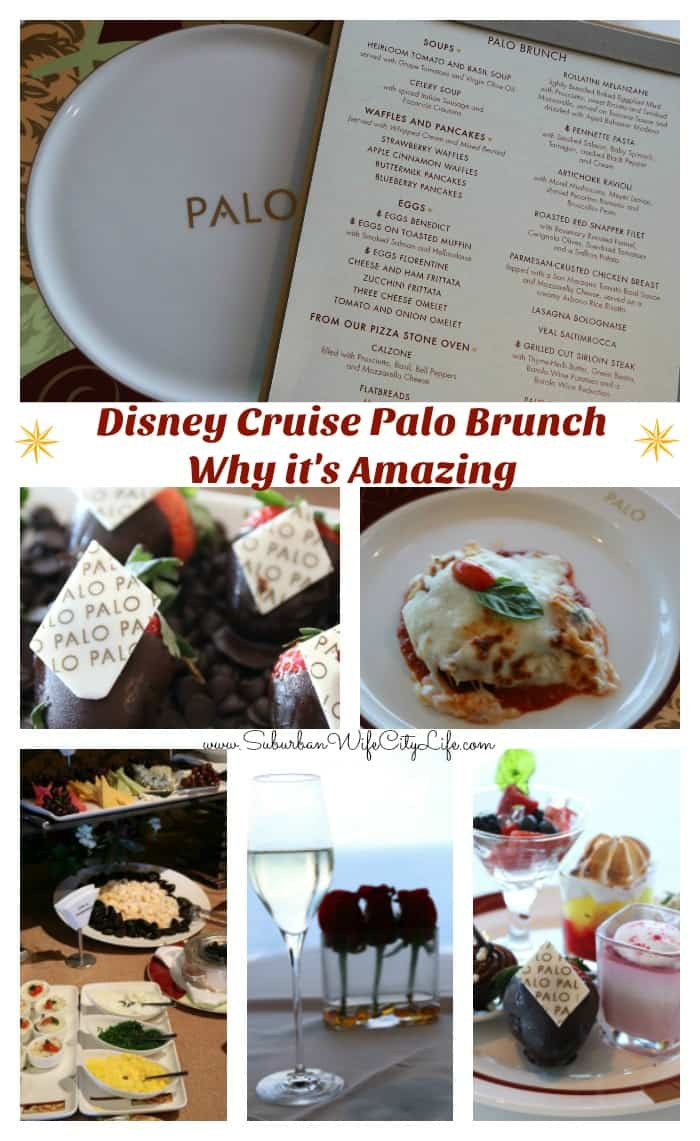 Disney Cruise Palo Brunch & Why it's Amazing
