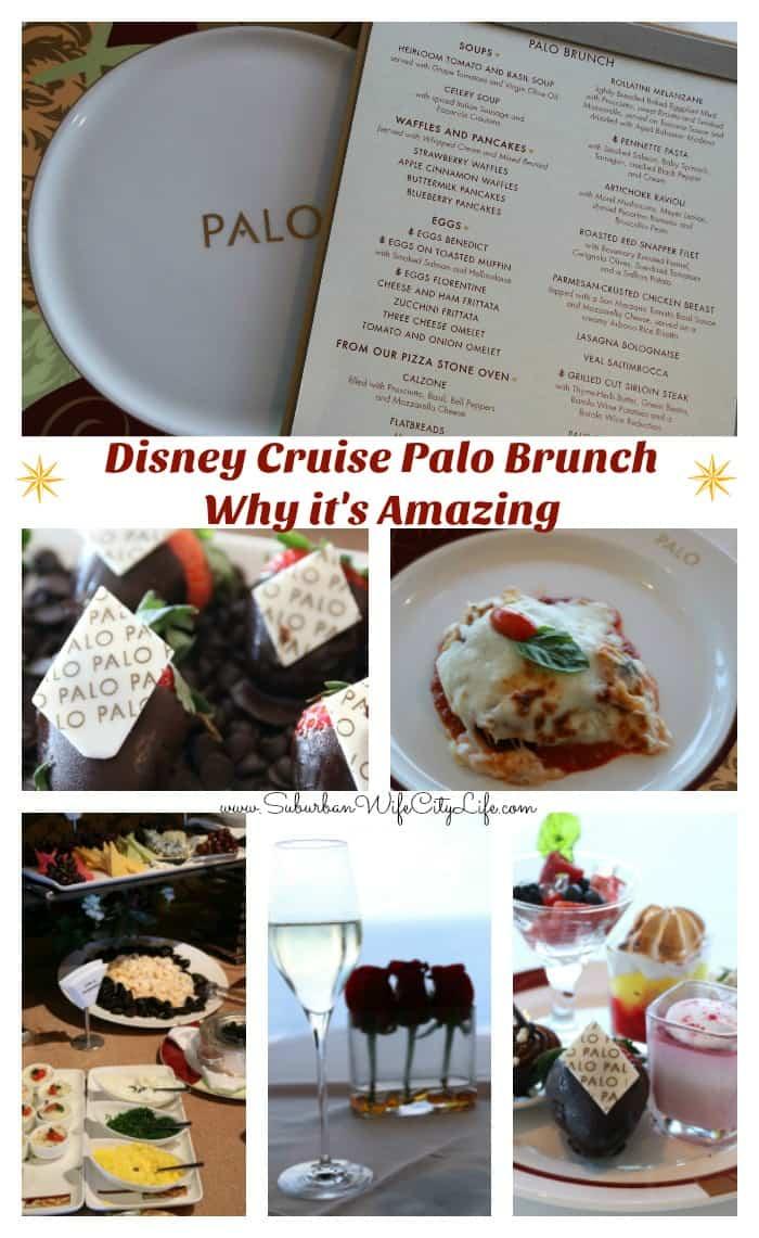 Palo Brunch Disney Cruise