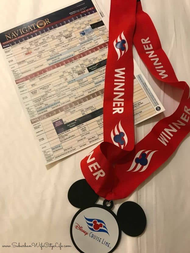Disney Trivia Winner Medal