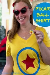 Pixar Ball Shirt #cricutmade
