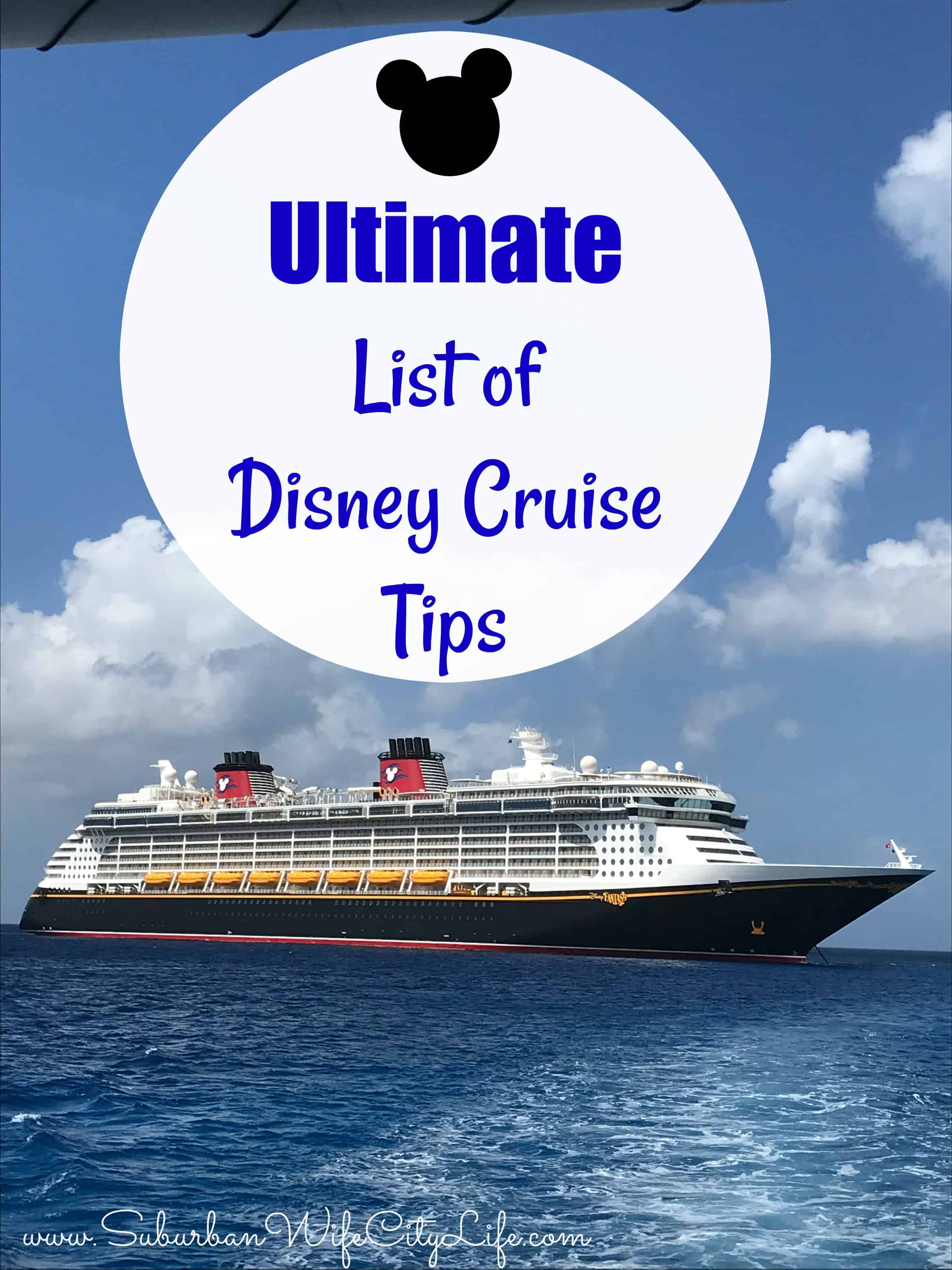 Ultimate List of Disney Cruise Line Tips