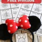Disney Trivia Free Printable