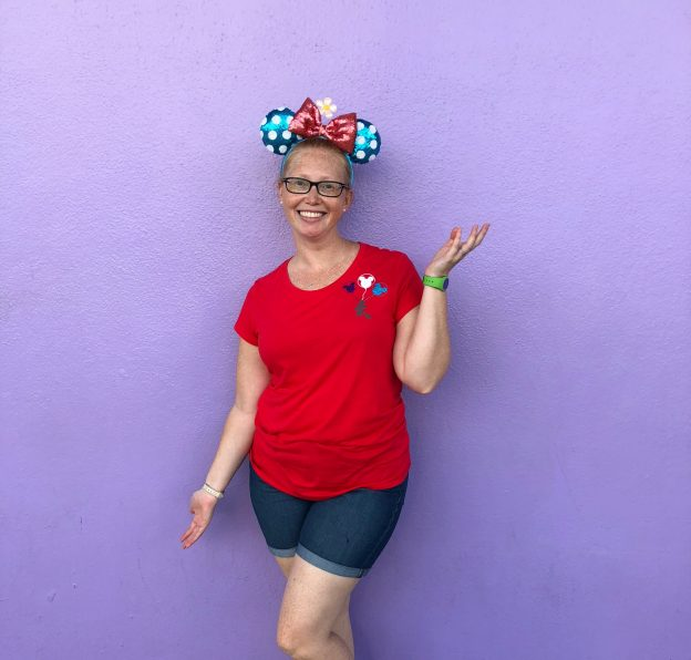 Disney World Purple Wall