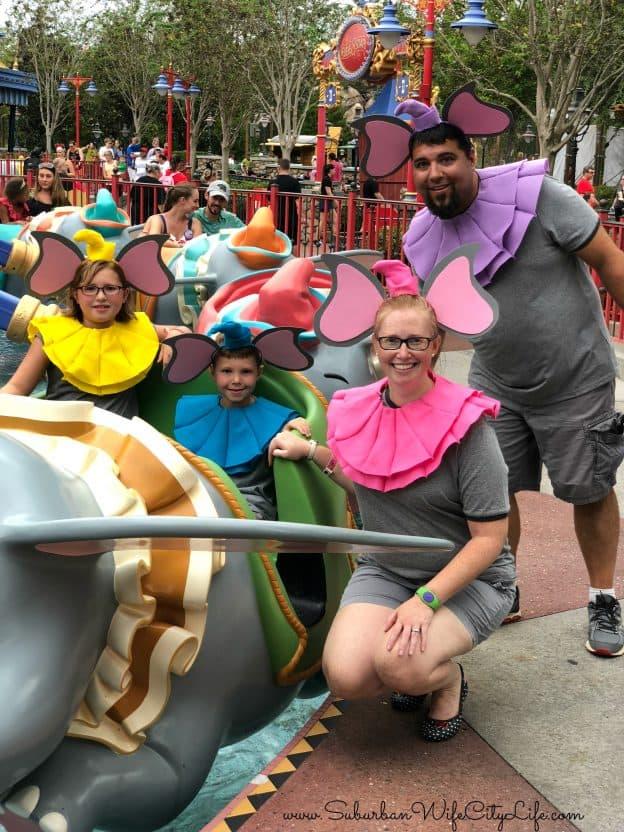 Dumbo Ride Costume