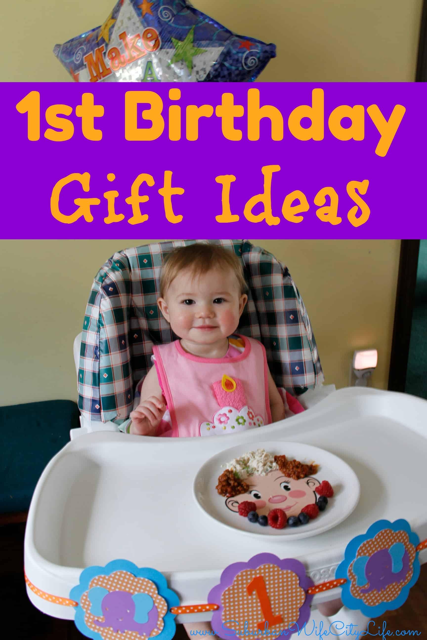 1st Birthday Gift Ideas