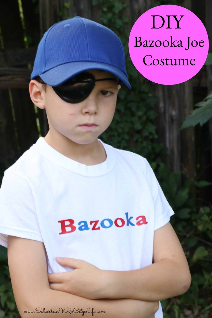 Bazooka Joe Costume