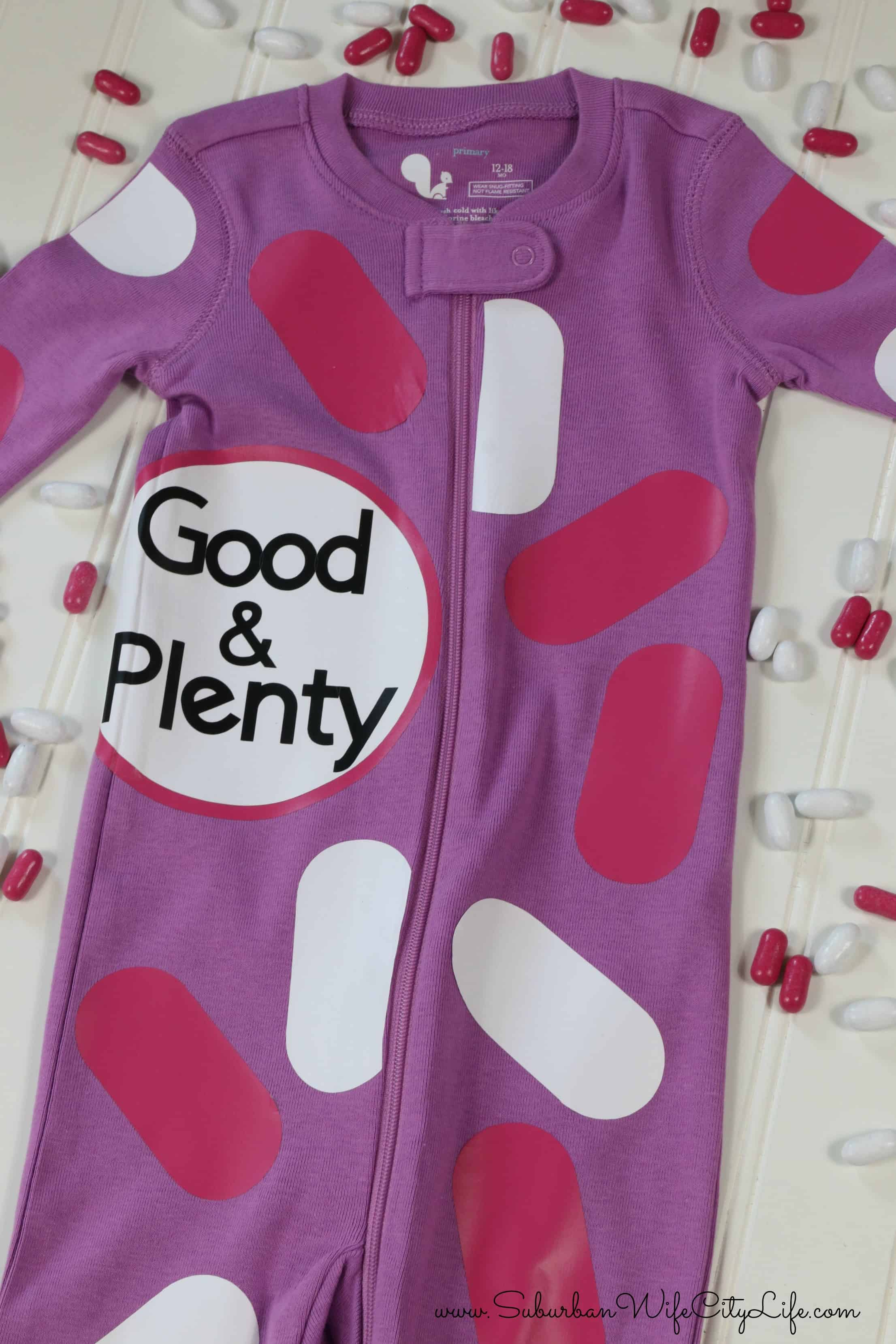 DIY Good & Plenty Costume