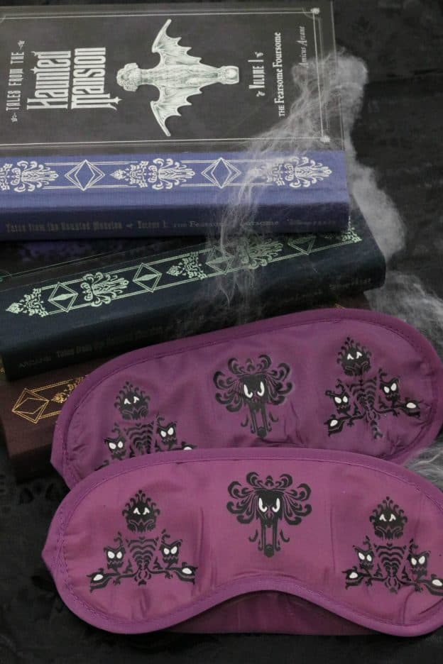 DIY Haunted Mansion Sleep Mask