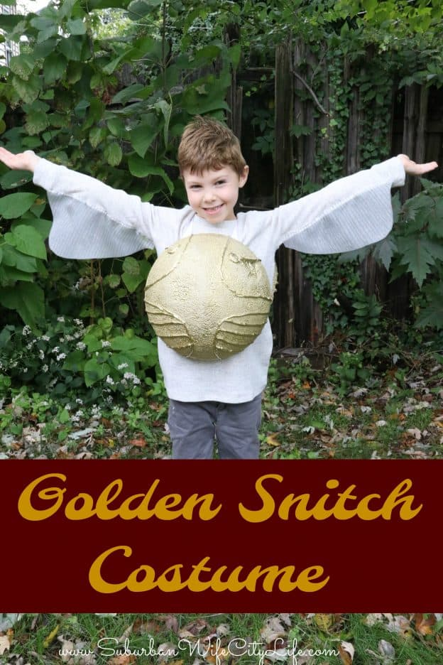 Golden Snitch Costume DIY