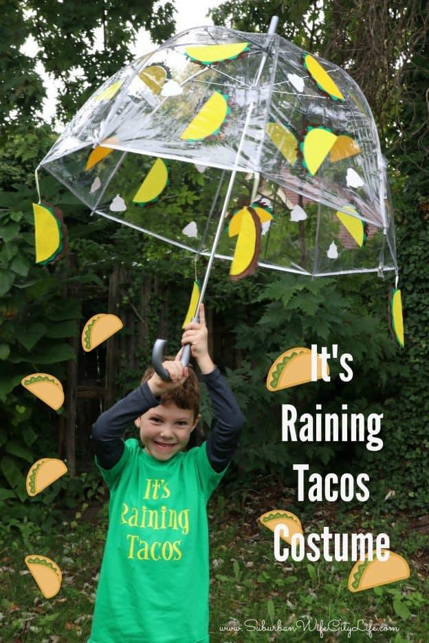 It's Raining Tacos Costume #CricutMade