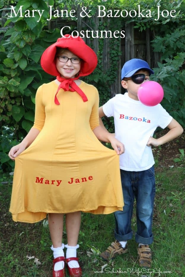Mary Jane & Bazooka Joe Costumes