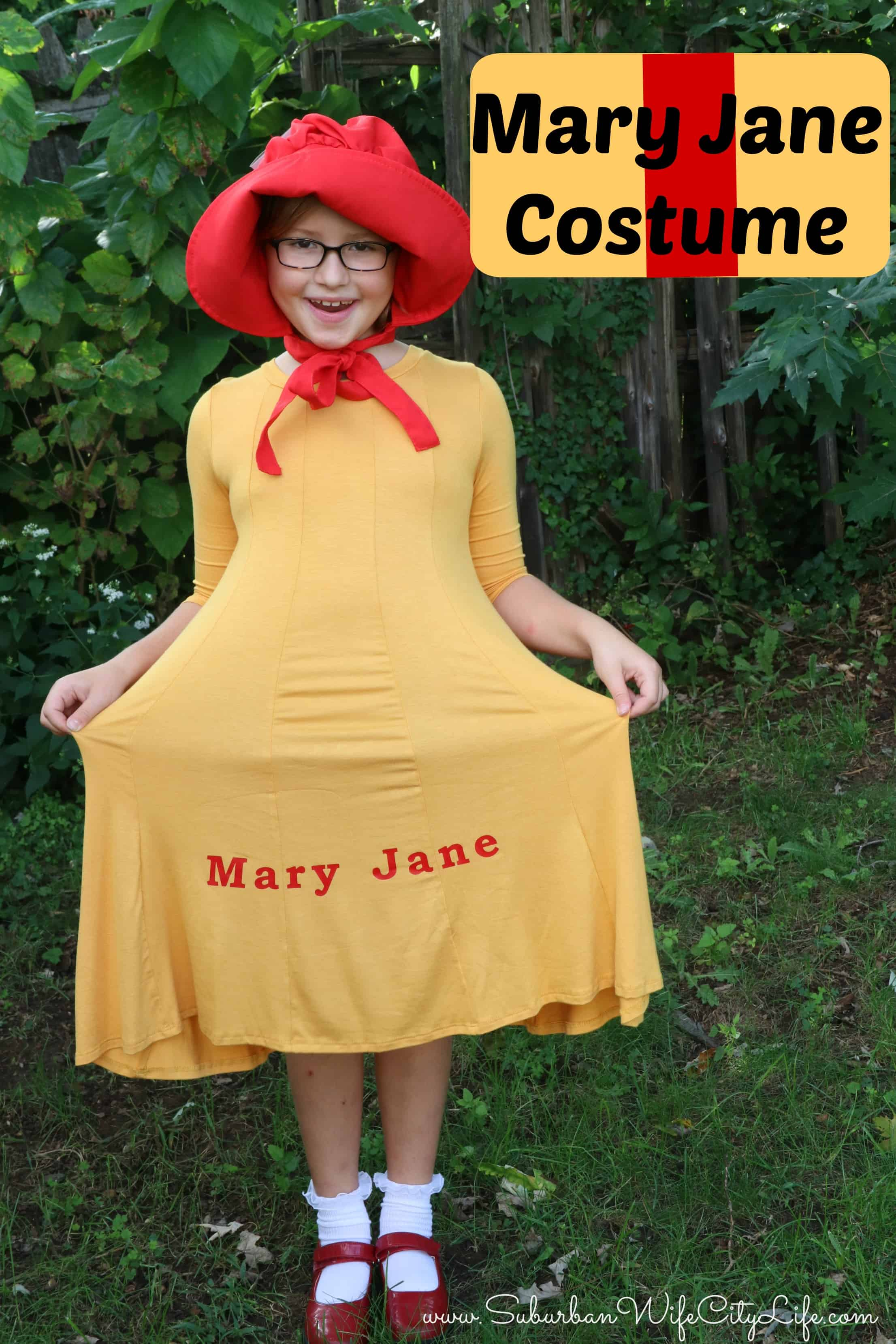 DIY Mary Jane Costume