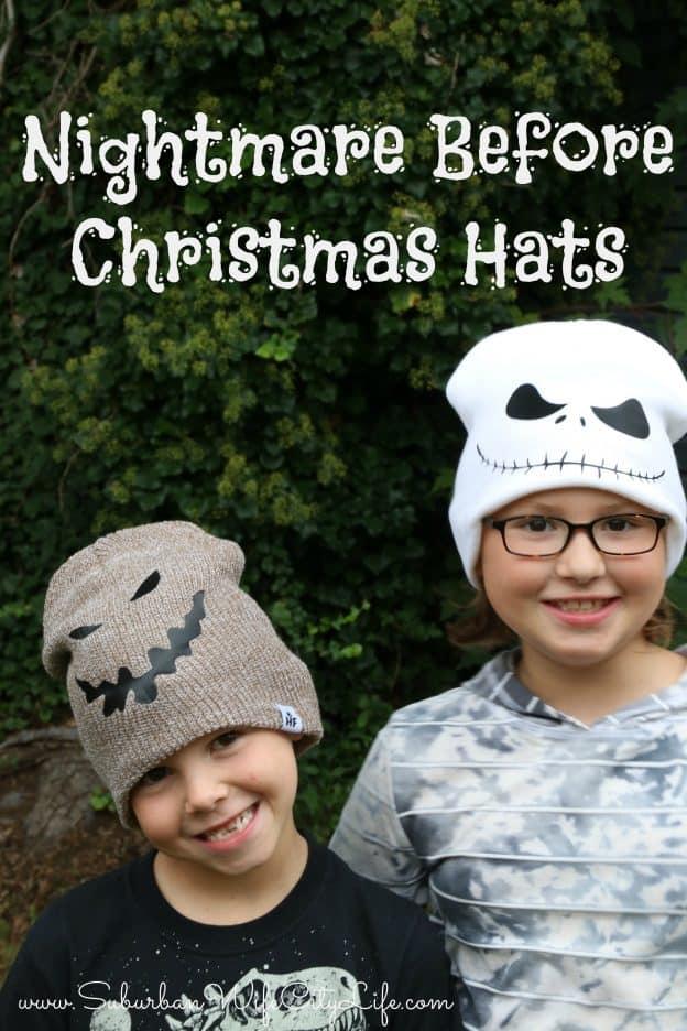 Nightmare Before Christmas Hats