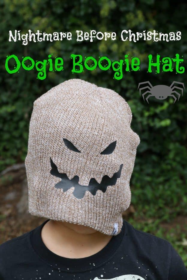 Oogie Boogie Hat #CricutMade