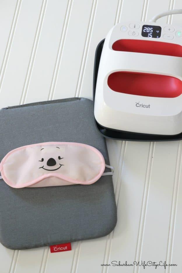 Piglet Sleep Mask #CricutMade
