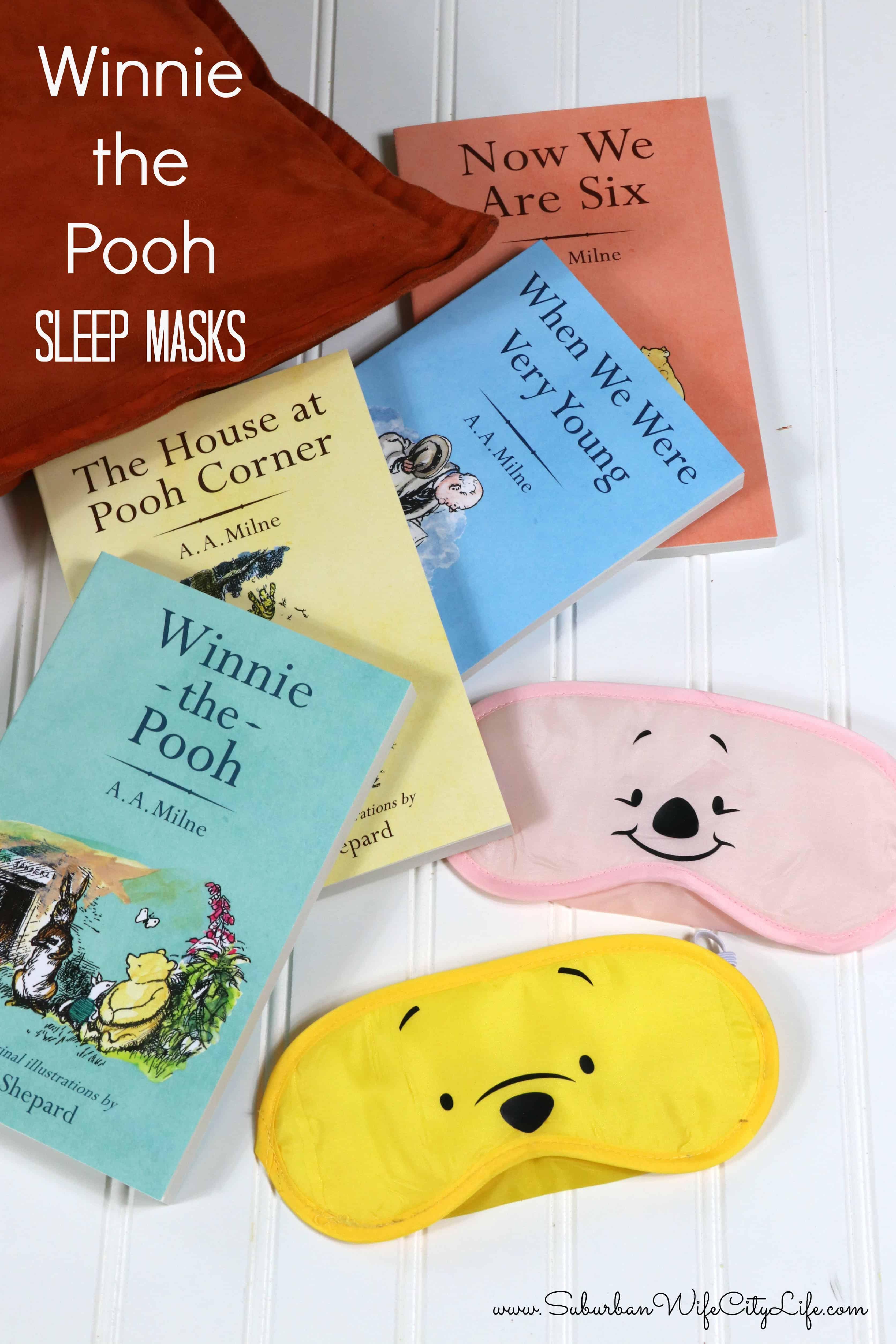 Winnie the Pooh Sleep Masks