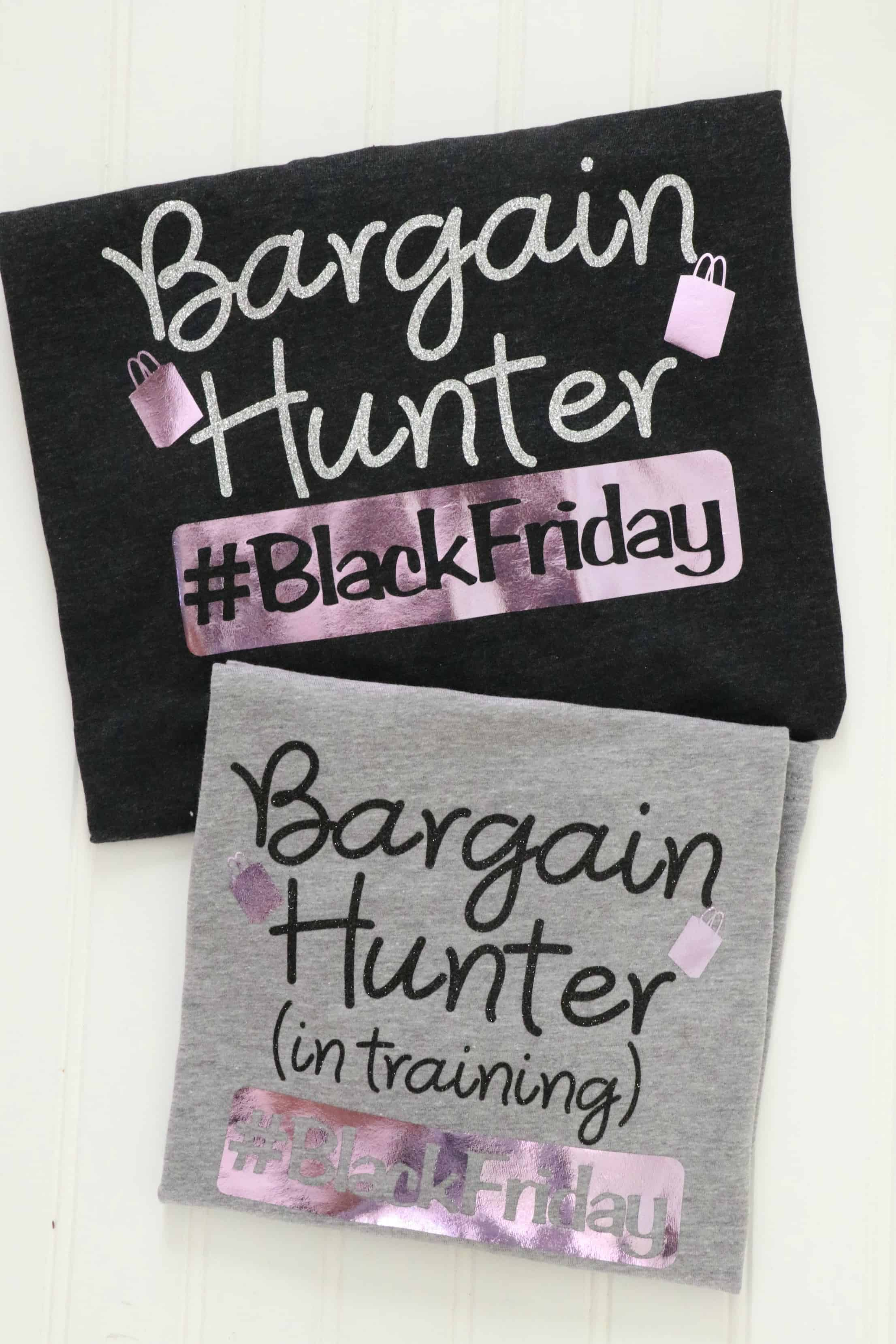Bargain Hunter shirts for Black Friday #BlackFriday
