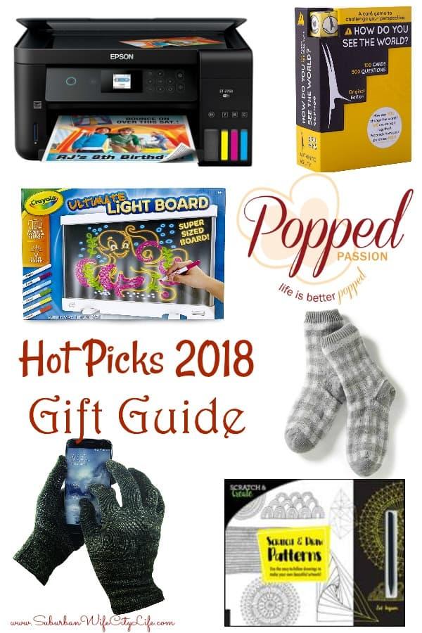 Hot Picks 2018 Gift Guide