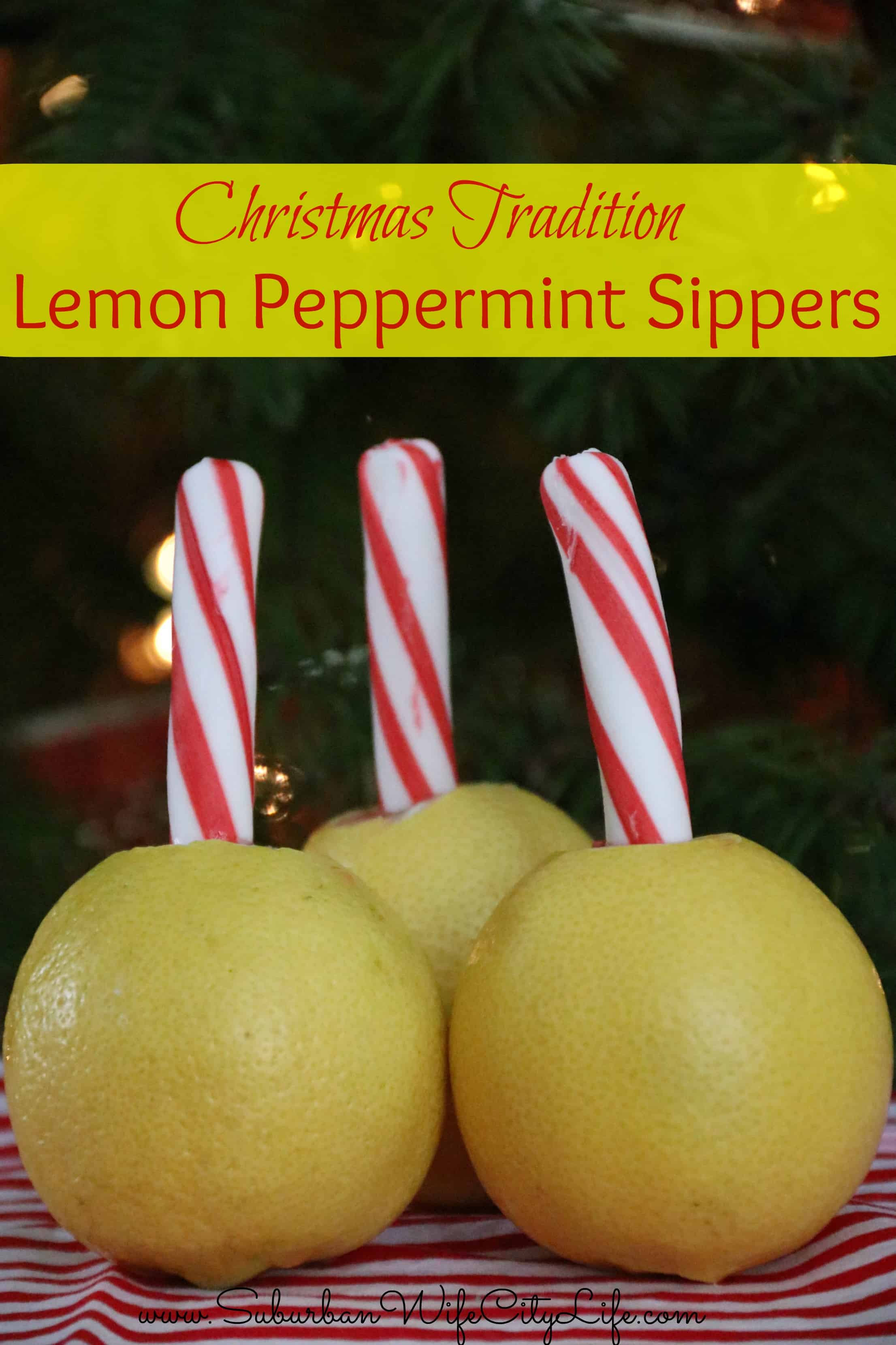 Lemon Peppermint Sippers
