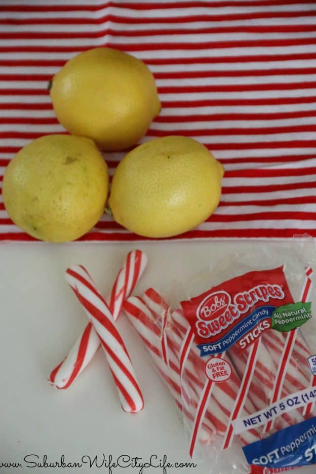 Lemon Peppermint Sippers Supplies