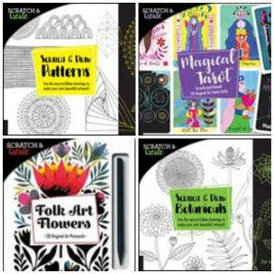 Scratch & Create books
