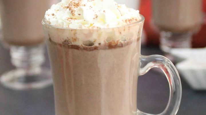 Hot Chocolate with Rum Chata