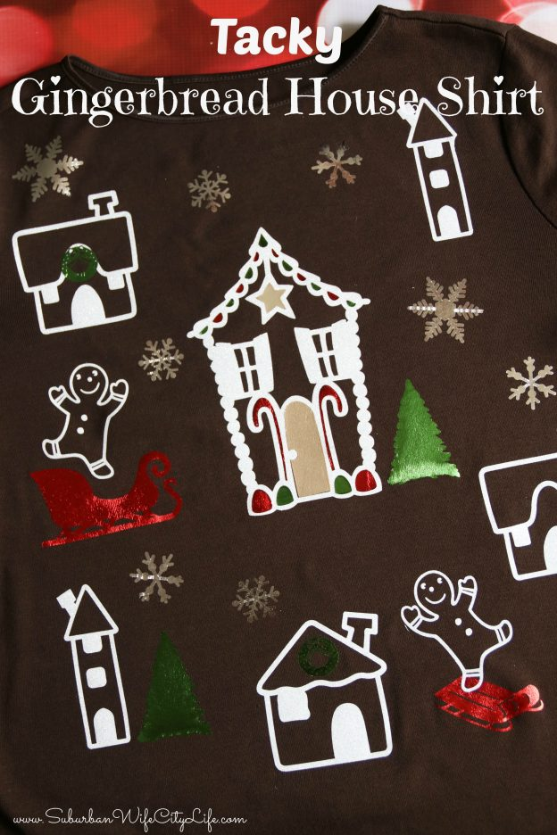 Tacky Gingerbread house shirt