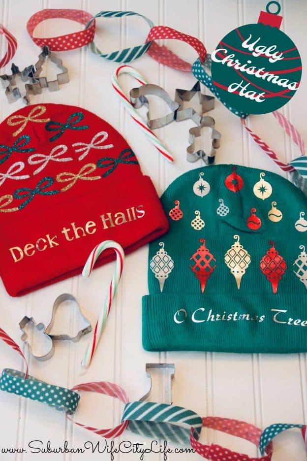 Ugly Christmas Hat #cricutmade