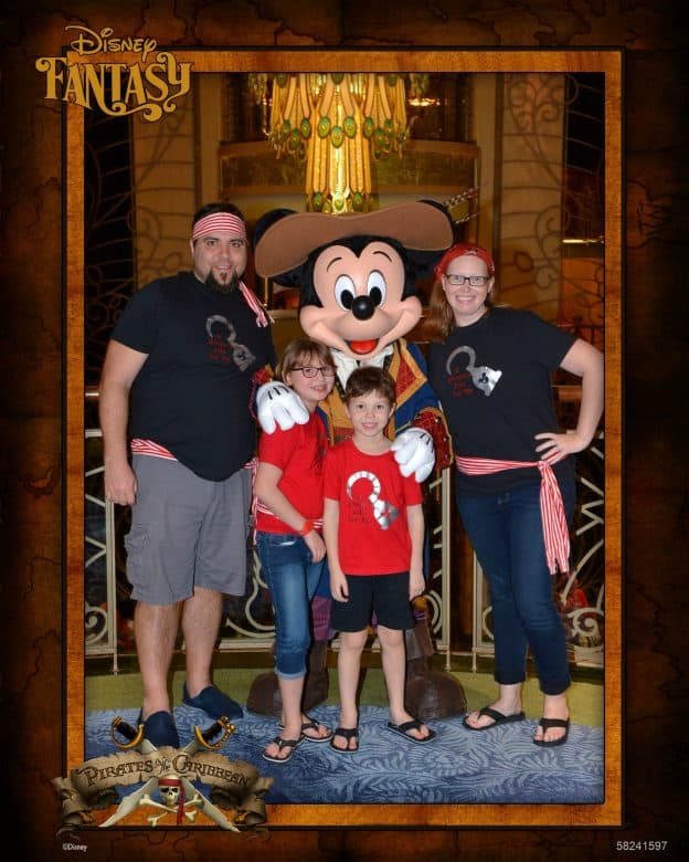 Disney Cruise Shutters Photo Package Pirate Mickey