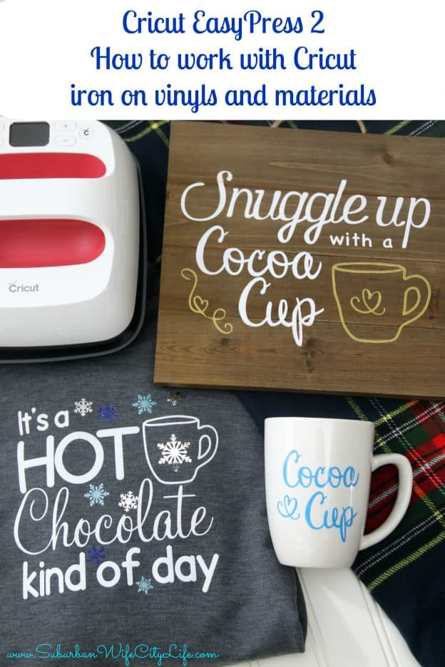 How to work with Cricut iron on vinyls and materials Cricut EasyPress 2