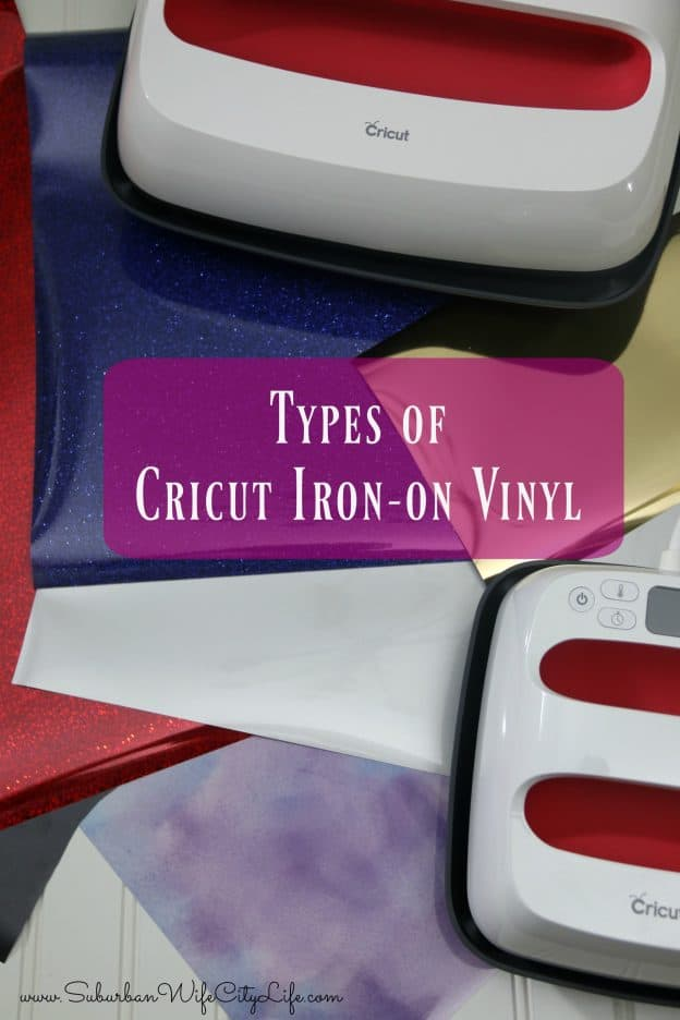 Types of Cricut Iron on Vinyl