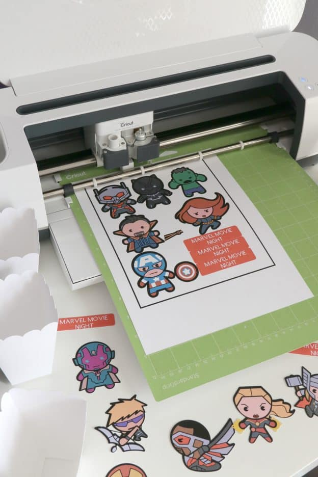 Cricut Print then Cut Marvel #CricutMade #CricutMaker